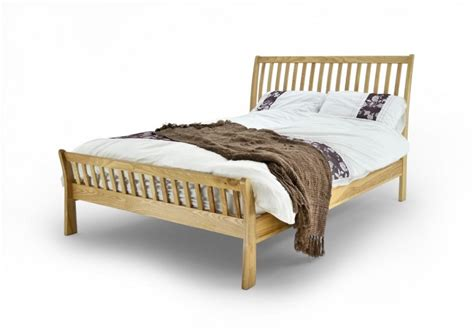 Oak Bed Frames Uk Metal Beds Ashton 5ft Kingsize Oak Bed Frame By Metal Beds Ltd