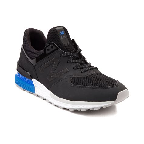 mens athletic shoes mens new balance 574 athletic shoe black 401595