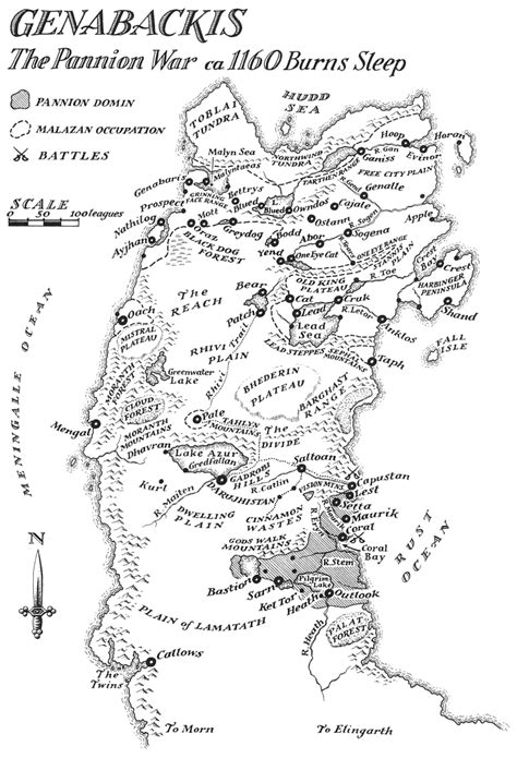 » Return of the Crimson Guard + Malazan map collection