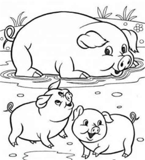 coloring pages farm animals and their babies animals and their babies coloring pages funnycrafts