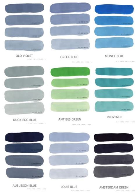 sloan chalk paint recipes paint colors i