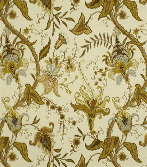 home decor fabric robert allen pontoise wheat fabric jo