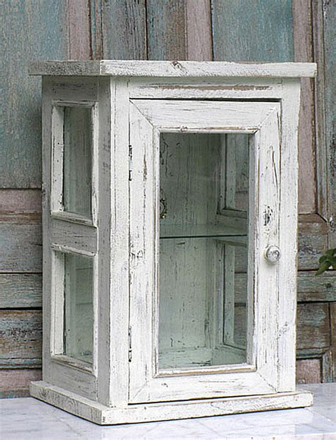 distressed wood cabinets distressed wood and glass display cabinet decoist
