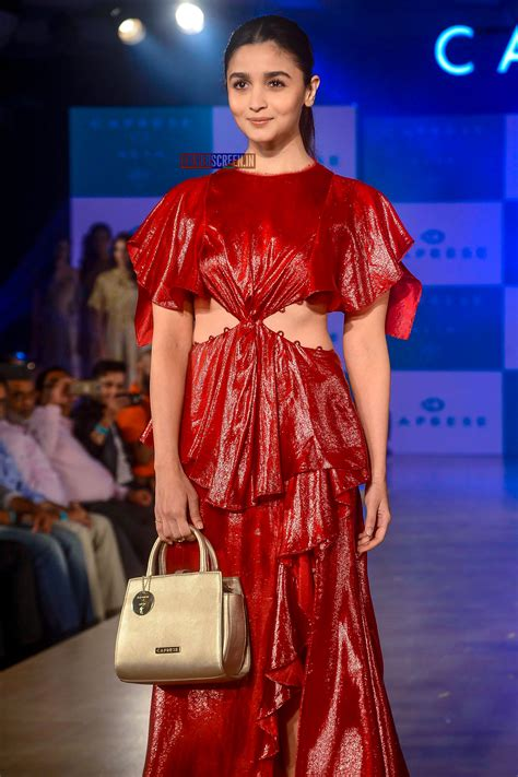 Alia Bhatt Walks For Caprese's New Collection ...
