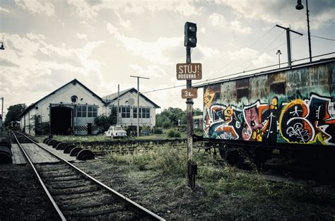 graffiti train wallpaper train train station old old car rust car rail yard