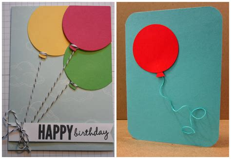 Cards Handmade Ideas - easy to make birthday cards gangcraft net