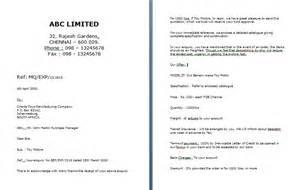 Business Letter Format For Sending Quotation quotation letter