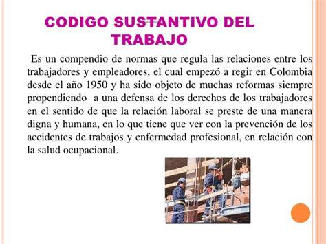 descargar codigo sustantivo de trabajo colombiano 2016 codigo d trabajo de colombia html autos post