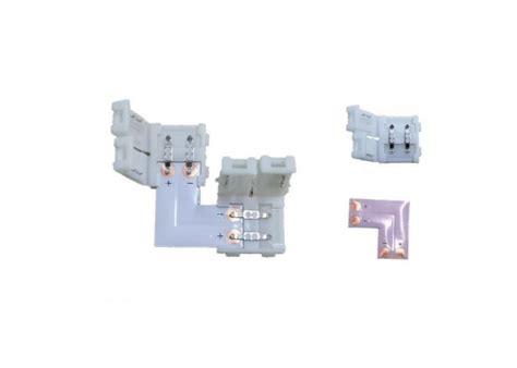 Konektor Lu Led kotni konektor za toplo in hladno bele trakove s priklju芻koma ipo tools