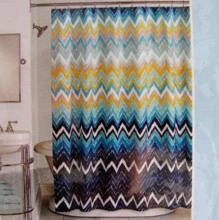 royal blue and gold curtains com peri shower curtain fabric hedges chevron