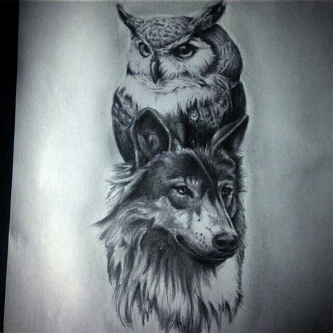 tattoo owl wolf 73 best tattoos masquerade images on pinterest