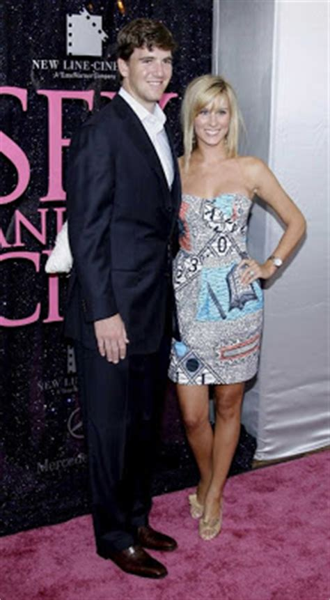 Eli Manning Sends Fiancee Abby Mcgrew Into Freezing Temps So He Wont Be Jinxed by Rate Your Classmates