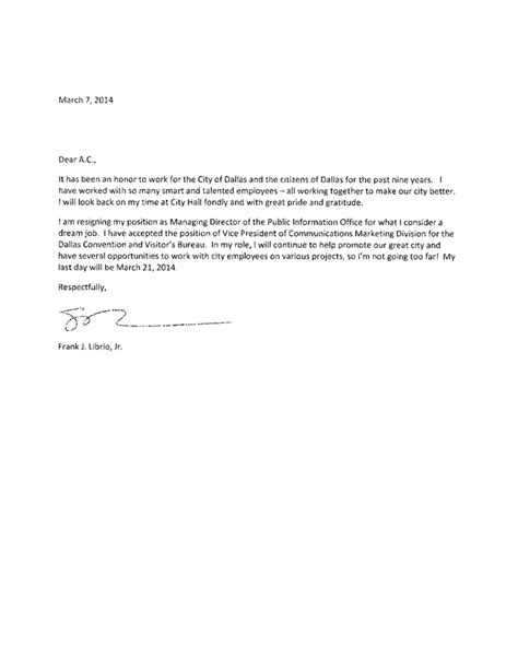 resignation letter format best what to include in resignation professional presentable what to
