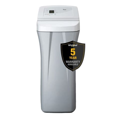 shop whirlpool 44 000 grain water softener at lowes