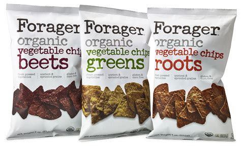 Organic Vegetable Chips forager project introduces vegetable chips made from