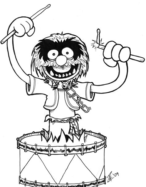muppets coloring pages jim henson doodle bonus printables scrink