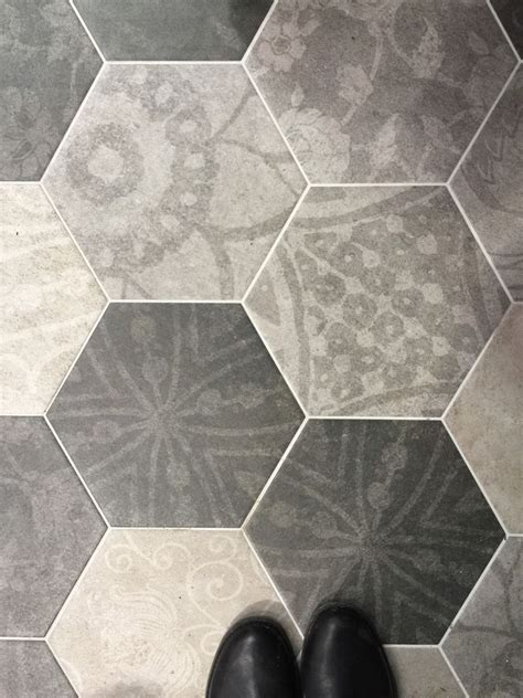 grey patterned ceramic floor tiles grey patterned hexagon porcelain floor wall tiles 250mm