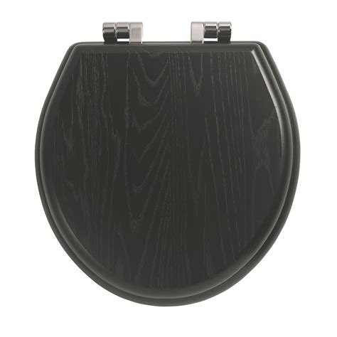solid wood toilet seats solid wood toilet seat chrome with standard hinge