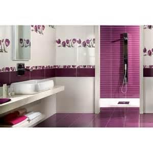 carrelage violet