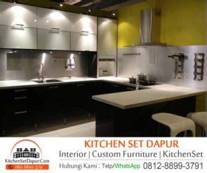 Satu Set Peralatan Tukang tukang kitchen set di bogor furniture custom bogor