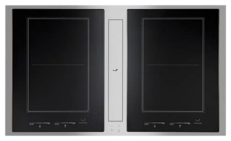induction stove jenn air jenn air to debut downdraft induction cooktop reviewed ovens