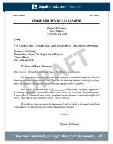 Cease And Desist Collection Letter Template by Cease And Desist Letter Create A Free Cease And Desist
