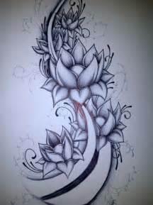 Lotus Flower Sleeve Lotus Flower Wrap Sleeve Idea