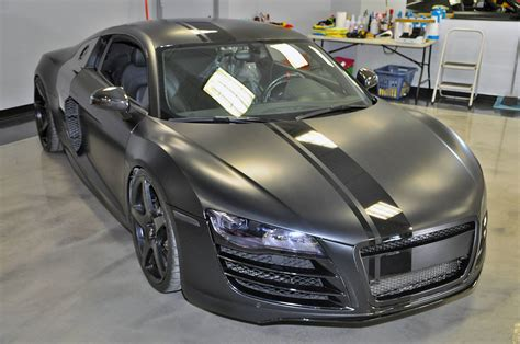 audi r8 matte black evil 800hp matte black audi r8 by vf engineering gtspirit