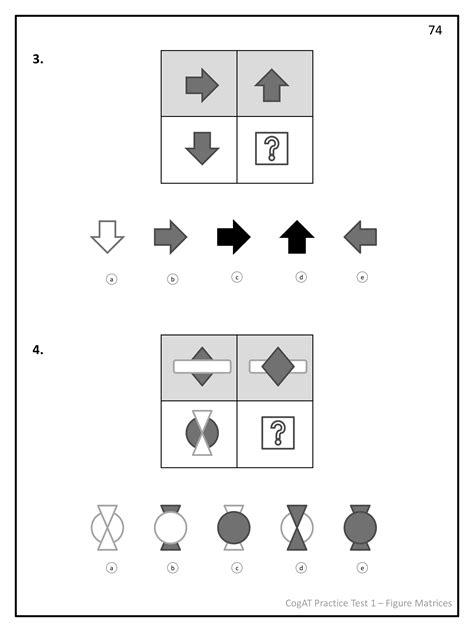 cogat test prep series number analogies volume 1 books practice test 1 for the cogat form 7 grade 2 smartcookie