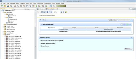 url pattern web xml syntax creating soap web services with netbeans 6 another