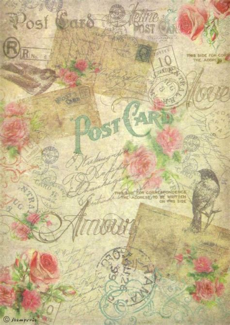 Printable Decoupage Sheets - ricepaper decoupage paper scrapbooking sheets craft