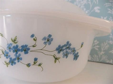Set B234 Blue 8 best images about vintage arcopal dishes on light blue flowers shopping and vintage