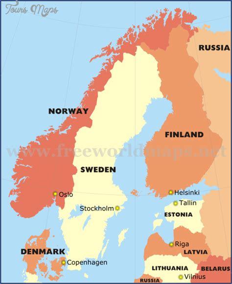 map of scandinavian countries scandinavia subway map toursmaps