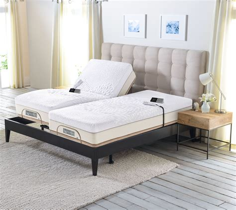 sleep number bed com sleep number memory foam split king mattress with