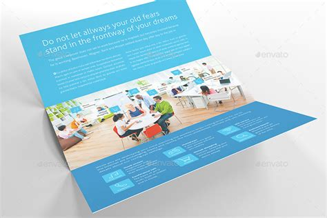 horizontal brochure template metro horizontal tri fold flyer by mikinger graphicriver