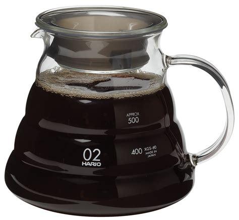 Hario Coffee Server V60 Manual Brew Espresso Teko Kopi 450 Ml hario espresso supply inc