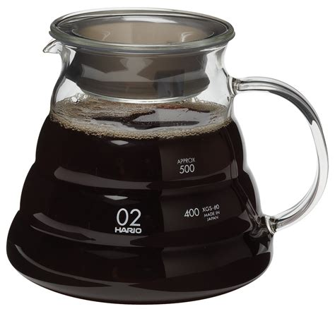 Hario V60 Range Server 600ml Clear   ESPRESSO SUPPLY, INC.