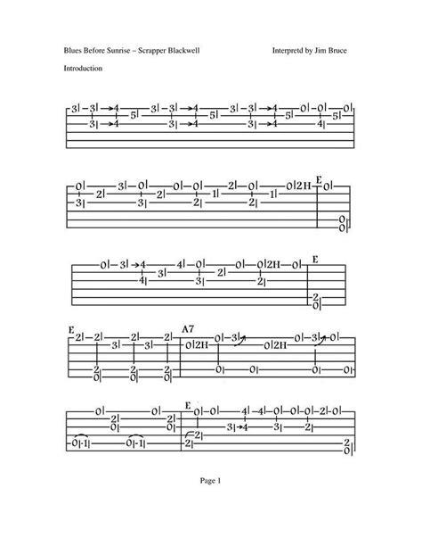 Jim Bruce Blues Guitar Lessons   Blues Chord Progressions