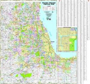 Chicago Highway Map by Gallery For Gt Map Of Chicago Cities