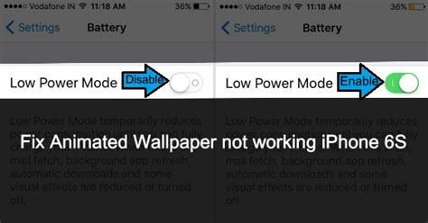 live wallpaper for iphone not working fix animated wallpaper not working on iphone 6s 7 plus