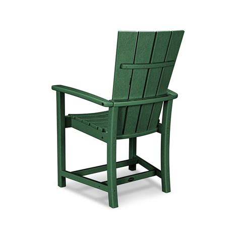 Adirondack Dining Chair Polywood 174 Quattro Adirondack Dining Chair Maintenance Free Outdoor Furniture