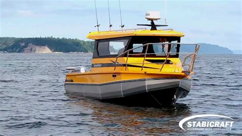 stabicraft boats stabicraft 2880 pilot house 1850 fisher 2013 youtube