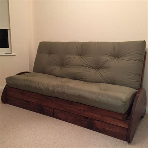 bi fold futon mattress carlisle bi fold futon