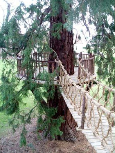 building a swinging bridge 1000 ideas about big playhouses on pinterest play
