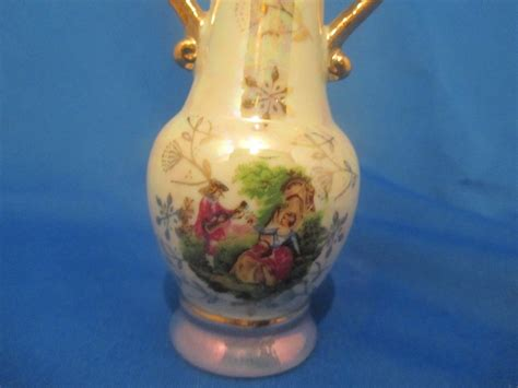 Vase Ornaments by Ornaments Figurines Luster Vase Now And Then Antiques