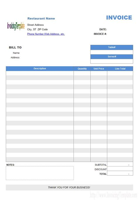 estimate template word free download invoice pinterest