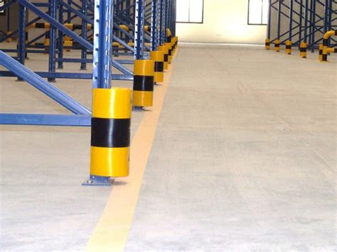 warehouse rack protectors image gallery protect it pallet rack protection pallet