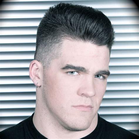 boys brush over hair cut alternative men s haircuts brush cut faux hawk mohawk