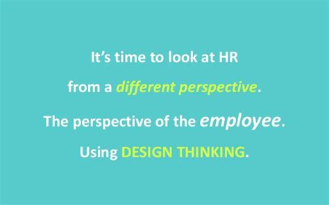 design thinking meets hr transforming the employee experience at shaping your employee experience through design thinking