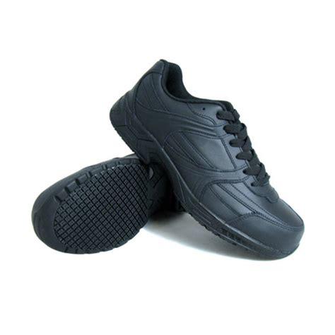 genuine grip slip resistant steel toe jogger work shoe